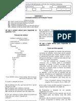 AVALIAÇÃO II_9 ANO_PROD TXT_UNIDADE II