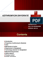 Presentation Slide on Azithromycin Dihydrate