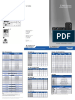 Mitsubishi E700 Variable frequency drive (VFD) _POCKET_GUIDE