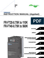 Mitsubishi F700 VFD Manual-Applied-Japanese Domestic
