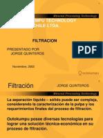 Filtration (Jorge Quinteros)