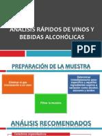 ANÁLISIS RÁPIDOS DE VINOS Y BEBIDAS ALCOHÓLICAS