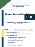 06 Nuevos Desarrollos Cytec, M. Palominos