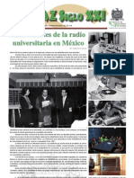 Antecedentes de La Radio Universitaria en Mexico