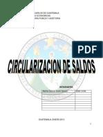 Circularizacion de Saldos DEFINITIVO