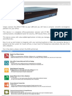 Axia A609 IP PBX Brochure 261112 v1
