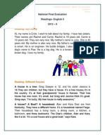 Readings_-_2012_ii Ingles 0 Evaluacion Final