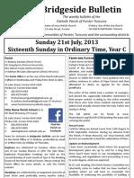 2013-07-21 - 16th Ordinary Year C