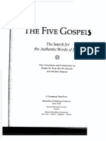 JESUS SEMINAR Introduction the Five Gospels