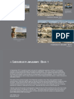 A sabbatical in Jerusalem