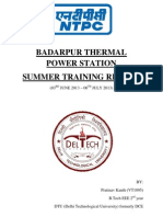 Ntpc Btps Electrical Project Report 2013