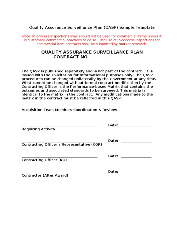 Colorful Quality Assurance Agreement Template Festooning - Resume ...