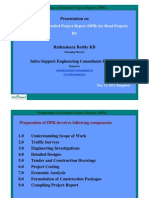 Preparation of Detailed Project Report (DPR) for Road/Highway Projects