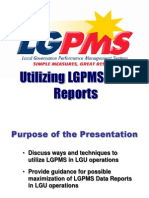 Utilizing LGPMS Information