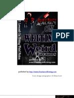 Writing Weird Fiction