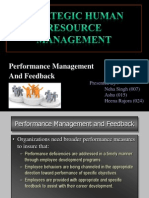 Performance Management(SHRM)