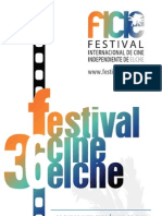 36 Festival Internacional de Cine Independiente de Elche. Programa Sección No Oficial