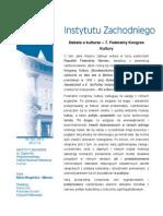 Maria Wagińska-Marzec, Debata o kulturze - 7. Federalny Kongres Kultury