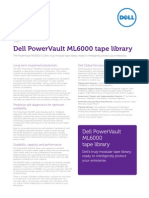 PowerVault ML6000 Tape Library Spec Sheet