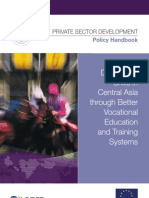 Developing Skills in Central Asia through Better Vocational Education and Training Systems