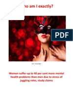 Who am I exactly? Gender Differences in Mental Health Problems