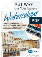 Number 1 Way to Improve Your Artwork Watercolour Ed