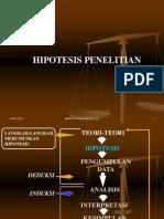 07. HIPOTESIS PENELITIAN