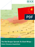 China's Resources Acquisition
