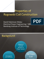 Practical Properties of Rogowski Coil Construction - Presentation Slide