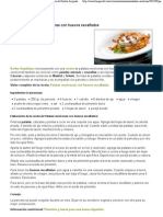Receta de Patatas revolconas con huevos escalfados de Karlos Arguiñano en Cocina, Recetas, Ensaladas y verduras