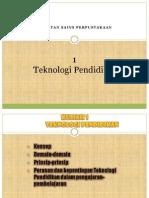 TOPIK 01 TEKNOLOGI PENDIDIKAN 1