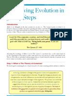 Disproving Evolution in 3 Easy Steps