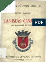 Gaspar Frutuoso _ Las Islas Canarias.