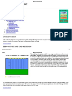 Seismic Acquisition Introduction