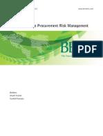 An introduction to procurement risk management