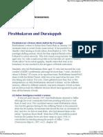 The Pirabakaran Phenomenon 13