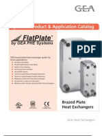 FlatPlate Hydronic HeatExchanger Usa