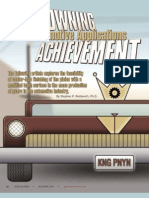 A Crowning Achievement for Automotive Applications