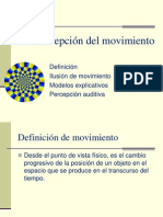 Percepcion Del Movimiento-new