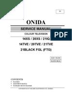ctv onida service manual