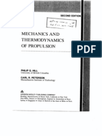 Hill Peterson 1992 Mechanics and Thermodynamics of Propulsion