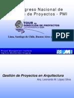 Gestion de Proyectos en Arquitectura