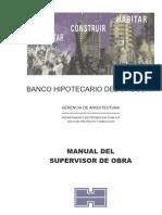 Manual Del Supervisor de Obra