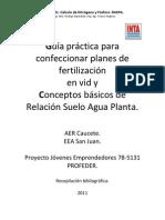 INTA-Fertilizaciones y RASPA 260811