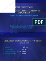 Demography, Child Health