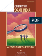 Psychometrics in Corporate India