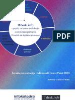 Prirucnik Prezentacije Microsoft Powerpoint 2010