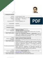 Curriculum Vitae CarlosVillarMorales PRO TOOLS