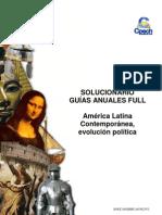 SOLUCIONARIO HU 29 América Latina Contemporánea evolución política