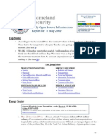 DHS Daily Report 2009-05-14